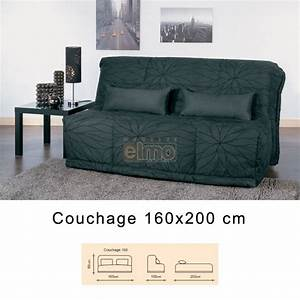 banquette lit convertible bz grand couchage 160 cm ilaria With banquette lit convertible