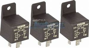 Viair 40 Amp Relay 3 Pack For 12 Volt Onboard Air Systems  U0026 Train Horn Kits