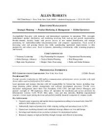 best resume for ceo ceo resume sle