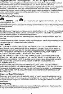 Huawei Technologies F202 Fixed Wireless Terminal User Manual
