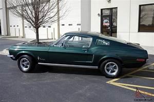 1968 Ford Mustang Bullitt, 428 Super Cobra Jet, 4 Speed ...