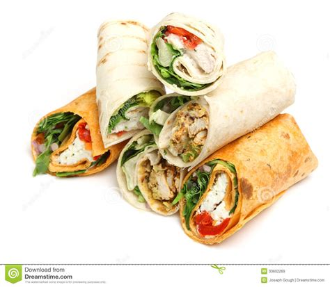 Wrap Sandwiches Royalty Free Stock Images  Image 33602269