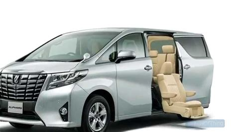 latest toyota cars 2016 2016 toyota alphard pictures information and specs