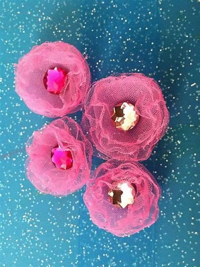Tulle Flower Tutorial Mom Shoeper Materials