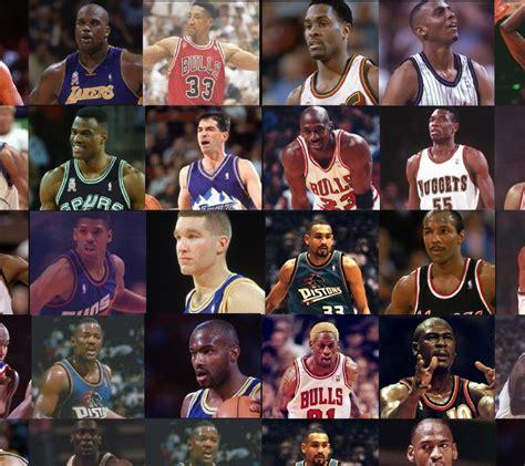 Legends Of The Nba 25 Best Players Of The 90s Bleacher