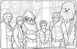 Hoth Leia Coloring Wickedbabesblog Partager Colorier sketch template