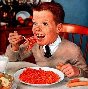Suggestion for Next Race: People Eating Spaghetti - Pixdaus