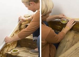 Proteger Le Bas Des Murs Exterieurs : peindre un escalier en bois avec la peinture r novation v33 ~ Dode.kayakingforconservation.com Idées de Décoration