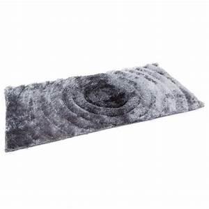 tapis shaggy gris poil long 120x170 cm tap06059 decoshop26 With tapis poil long gris