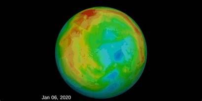 Ozone Layer Arctic Hole Antarctica Circle Coronavirus