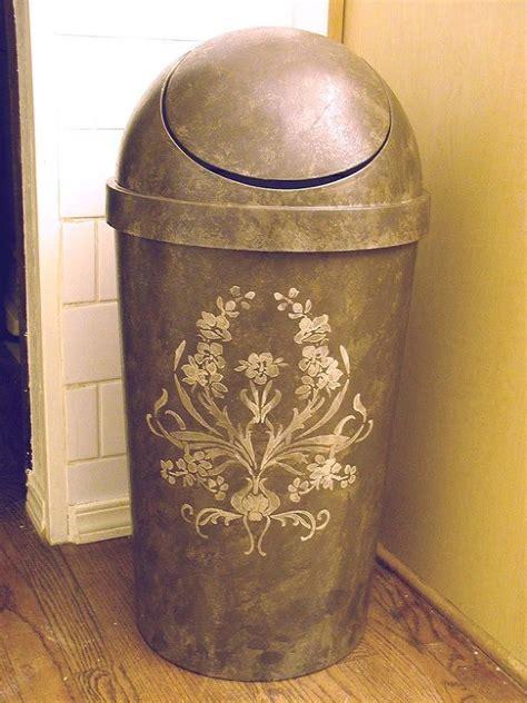 designer trash can 8 ways to hide or dress up an kitchen trash can