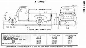 Frame    Chassis Measurements For 62 F100  U0026 65 F350 Please