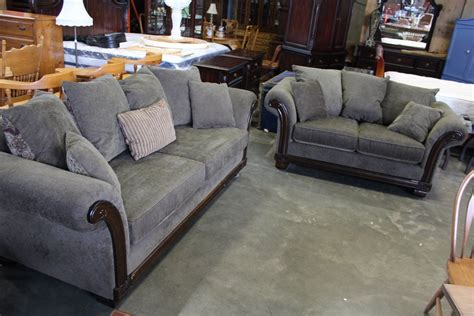 Matching Sofa And Loveseat by Upolstered Rolled Arm Designer Sofa And Loveseat And Lots