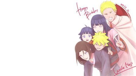 happy birthday uncle neji hd wallpaper background image