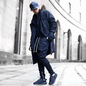 2018 Wholesale Khaki/Black/Green Korean Hip Hop Fashion ...