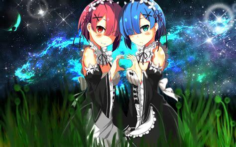 anime anime girls blue hair wallpaper anime