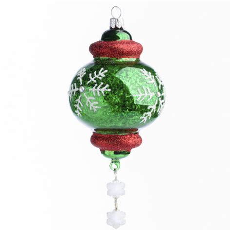 glass finial christmas ornament christmas ornaments