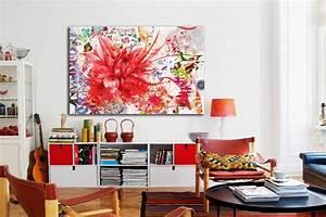 Tableau Moderne Salon : nouveau tableau fleur divine folie blog izoa ~ Teatrodelosmanantiales.com Idées de Décoration