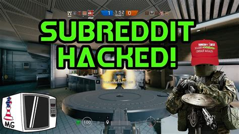 official subreddit hacked rainbow  siege youtube