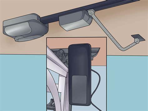 Garage Door Opener Volvo by How To Choose A Garage Door Opener 8 Steps With Pictures