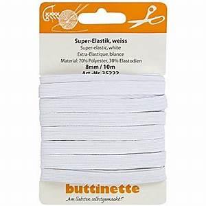 Gummiband Länge Berechnen : buttinette gummiband standard elastik weiss breite 8 mm l nge 10 m online kaufen ~ Themetempest.com Abrechnung