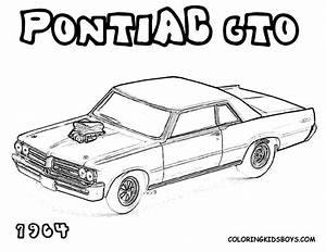 cars coloring page | ... Coloring Pages | American Muscle ...