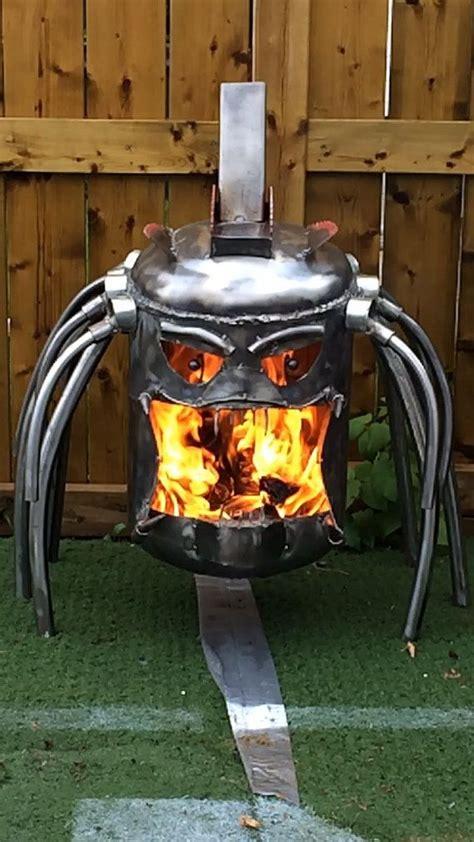 predator fire pit fire box  calgarycreativework  etsy