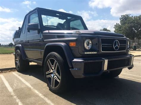 Set an alert to be notified of new listings. Mercedes G-Wagon Convertible G500 AMG For Sale In The USA - 4x4 Friday