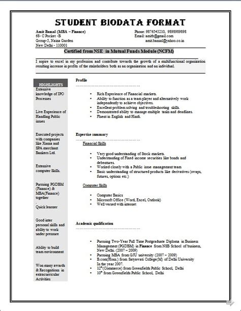 5 blank professional resume templates 20 images