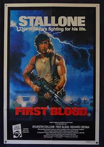 All About Movies - First Blood Movie Poster Original One ...