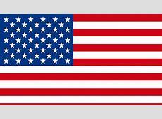 Las barras y las estrellas en la bandera de Estados Unidos