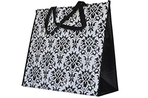 household essentials  krush canvas utility tote reusable grocery shopping bag laundry