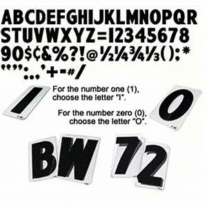 wagner zip change letters 6 inch black results page 1 With 6 zip sign letters