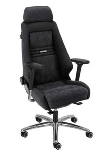 siege bureau recaro fauteuil de bureau recaro spécialist recaro cd