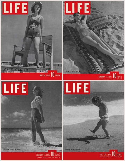 Iconic Life Magazine Covers Beach Coast Style