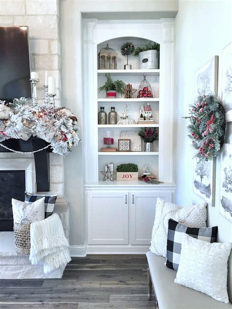 stop staring   stunning christmas shelf