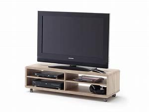 Tv Lowboard Mit Rollen : jaap xl tv lowboard eiche s gerau mit rollen ~ Bigdaddyawards.com Haus und Dekorationen