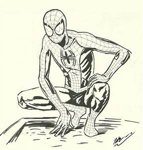 Ultimate Spider-Man sketch by CagsCreations on DeviantArt