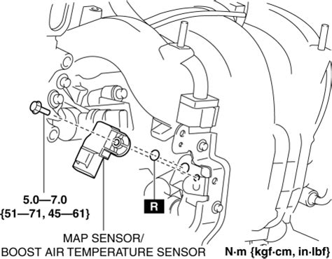 Mazda Service Manual Manifold Absolute Pressure Map