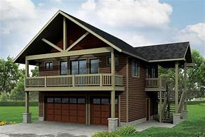 garage plan 41162 at familyhomeplanscom With apartment over garage kits
