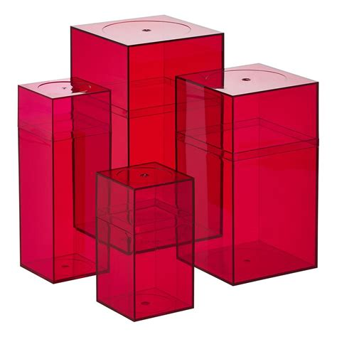 amac boxes pink amac boxes the container store