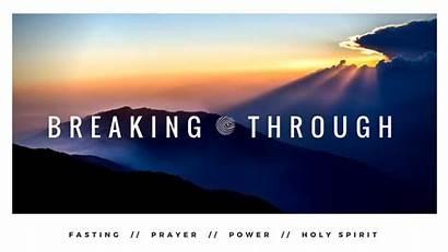 Breaking Through Series Sermon Graphic Church Binkley