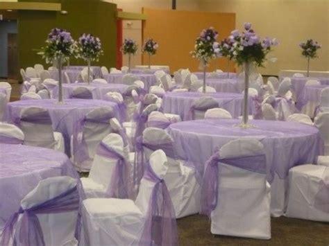 Lilac Decorations Wedding Tables - lavender wedding reception beautiful lavender white