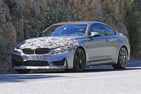 2017 Bmw M4 Coupe Spied With Minor Updates