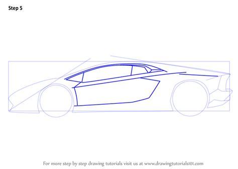 lamborghini sketch side step by step how to draw lamborghini centenario side view