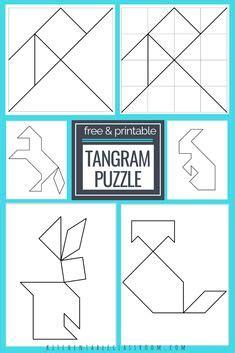 tangram printable images tangram printable