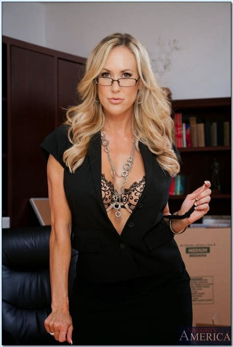Blistering Milf Teacher Brandi Love Posing In Nylon