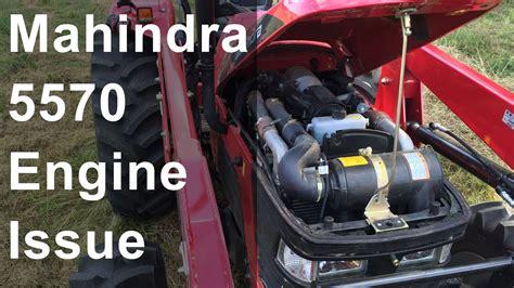 mahindra  engine problem youtube