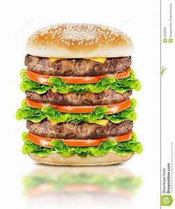 Delicious Big Burger Stock Photo - Image: 42006392