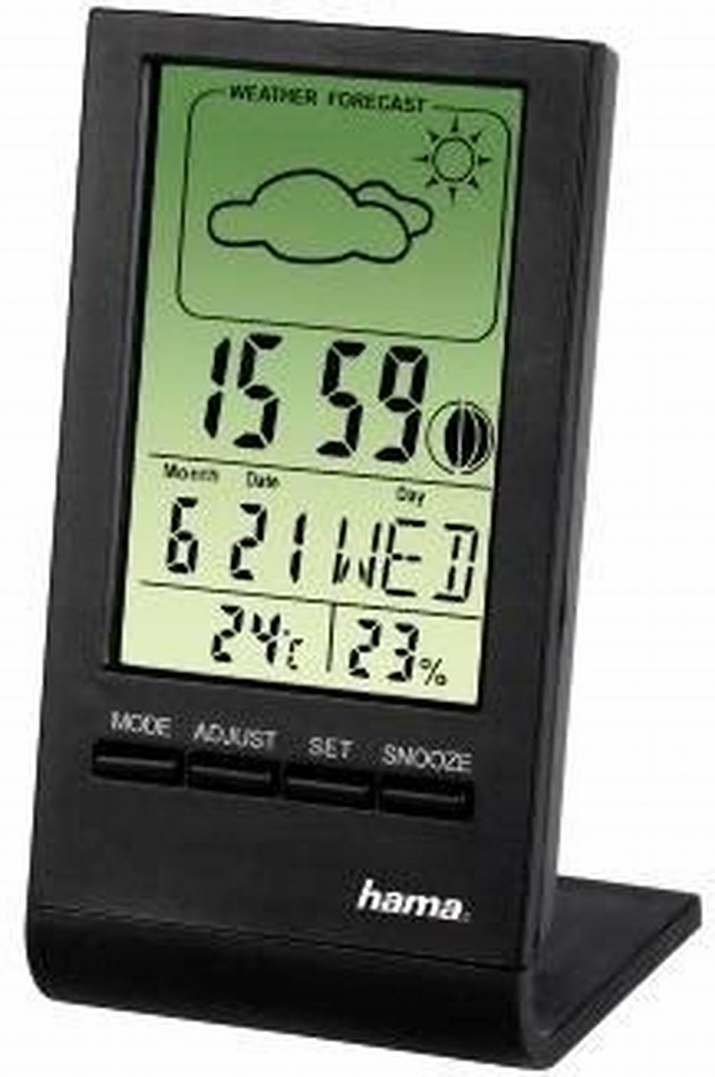 #Hama #75297 #Th100 #Lcd #Thermometer #Hygrometer